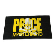 Mastermind Japan Peace Towel Yellow/ Black