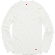 Supreme Hanes Thermal Crew Off White