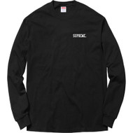 Supreme Overfiend Long Sleeve Tee Black