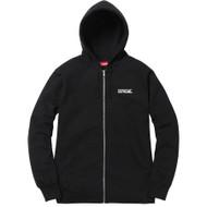 Supreme Overfiend Date Zip-Up Sweatshirt Black