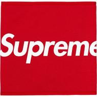 Supreme Fleece Neck Gaiter Red
