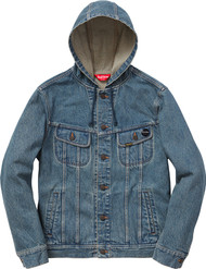 Supreme Hooded Denim Jacket