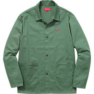 Supreme Shop Jacket Dark Mint