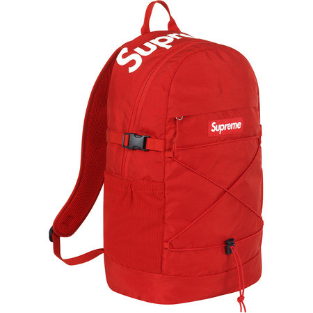 Supreme Backpack Red - curatedsupply.com