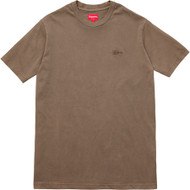 Supreme Overdyed Tee Brown