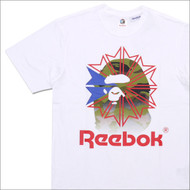 Bape x Mita Sneakers x Reebok Classic Collection Tee White/ Red
