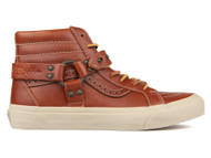 Vans Leather Tortise Shell LX Sk8-Hi Engineer LX