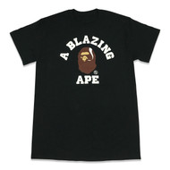 A Blazing Ape Tee Black