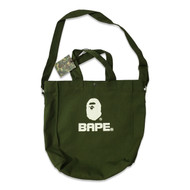 Bape XL Tote Bag Army Green