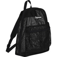 Supreme All Mesh Backpack Black