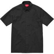 Supreme Lightweight Oxford Shirt Black Short Sleeve