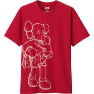 KAWS Companion Tee Red