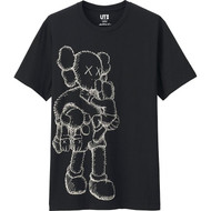 KAWS Companion Tee Black