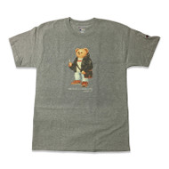 GOLO Bear By Curated Supply Grey T Shirt