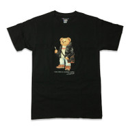 GOLO Bear By Curated Supply Black T Shirt
