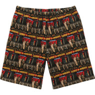 Supreme The War Report Waffle Thermal Shorts