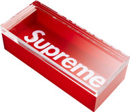 Supreme Lucite Box Red