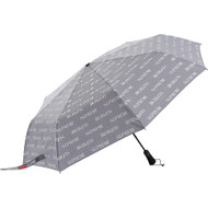 Supreme ShedRain Reflective Repeat Umbrella Silver