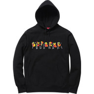 Supreme Blade Whole Car Hooded Sweatshirt Black