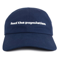 FTP X FUCT  Fuct The Population Hat Navy Blue