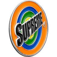 Supreme Spin Pin Silver