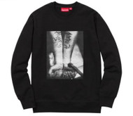 Supreme Slayer Cutter Crewneck Black