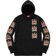 Supreme Slayer Eagle Hooded Sweater Black