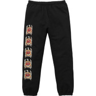 Supreme Slayer Eagle Sweat Pants Black