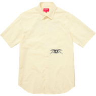 Supreme Anti Hero S/S Shirt Pale Yellow