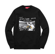 Supreme Anti Hero Pope Crewneck Black