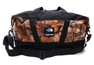 Supreme The North Face Apex Duffle Bag Leaves Camo