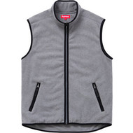Supreme Polar Fleece Vest Grey