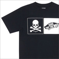 Mastermind Japan x Vans Off The Wall Black Tee