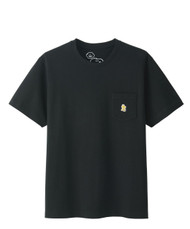 Kaws x Peanuts Woodstock Pocket Tee Black