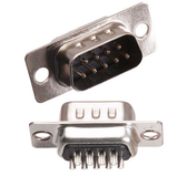 D-Sub DB9 Male Solder Cup Connector