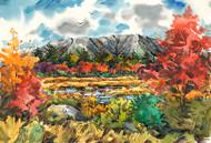 Mount Katahdin in October