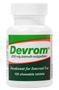 Flatulence deodorizer Devrom chewable tablets acts fast and is FDA approved to safely and effectively save you from embarrassing moments.