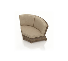 Forever Patio Cypress Wicker Sectional 45 Degree Corner Chair by NorthCape Intl
