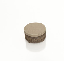 Forever Patio Cypress Wicker Round Ottoman by NorthCape International