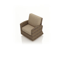Forever Patio Cypress Wicker Swivel Glider Club Chair by NorthCape International