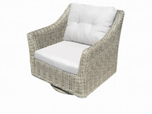 Forever Patio  Carlisle Wicker Swivel Rocker by NorthCape Intl