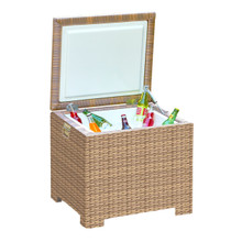 Forever Patio Hampton Wicker End Table Ice Chest by NorthCape International