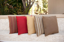 Forever Patio Sunbrella Outdoor Square Throw Pillow 16""