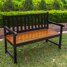International Caravan Highland Acacia Wood 49-inch Bench