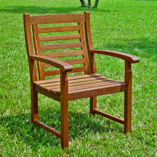 International Caravan Highland Acacia Trinidad Chairs (Set of 2)