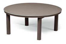 "Telescope Casual 54"" Round Chat Height MGP Table With Hole"