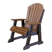 Little Cottage Heritage Poly-Wood High Fan Back Chair