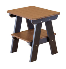 Little Cottage Heritage Poly-Wood Two Tier End Table