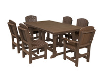 "Little Cottage Heritage Poly-Wood 7 Piece 72"" Rectangular  Dining Set"
