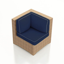 Forever Patio Hampton Wicker Sectional Corner Chair by NorthCape International